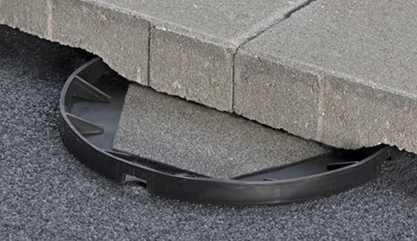 Toebehoren voor betontegels
