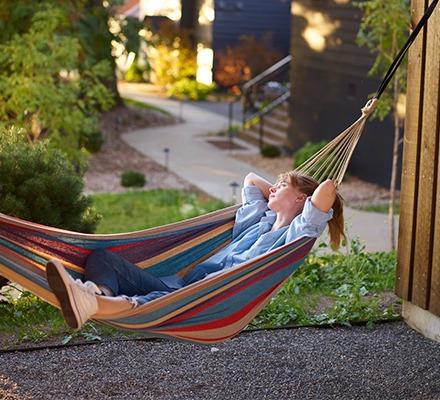 tuin waarin je kunt ontspannen